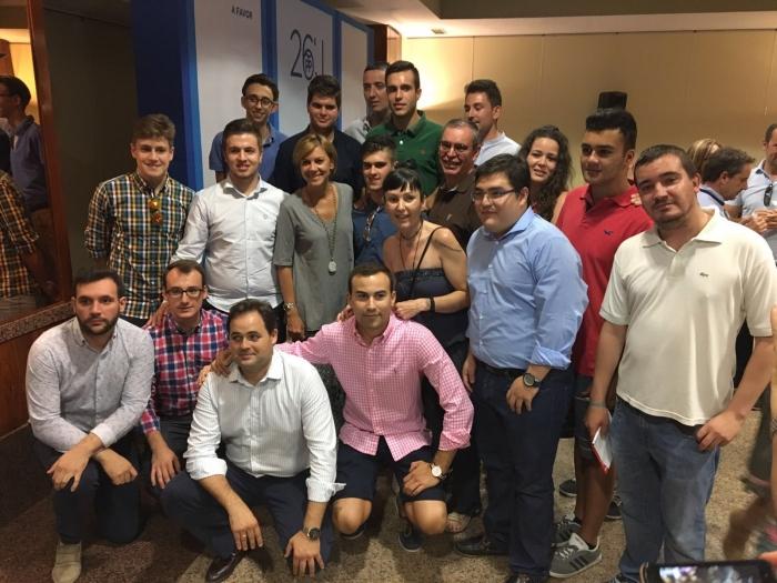 09-07-2016: Junta directiva provincial del PP de Albacete, con presencia de María Dolores Cospedal.