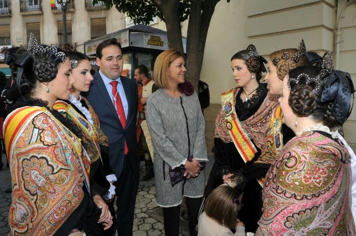 06-05-2016: En las Fiestas de Almansa, junto al alcalde Paco Núñez.