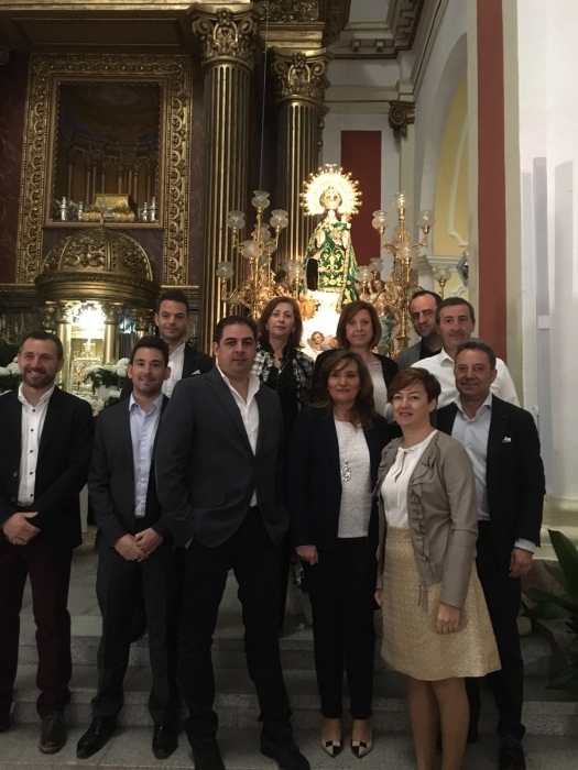26-04-2016: Nutrida presencia de cargos públicos del Partido Popular, junto al portavoz de Casas Ibáñez, José Carlos Batalla, en la festividad de Nuestra Señora la Virgen de la Cabeza.