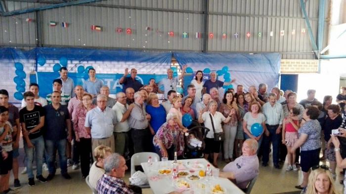18-06-2016: En Fuenteálamo, comida de afiliados y simpatizantes de la comarca, con el candidato al Senado, Marcial Marín.