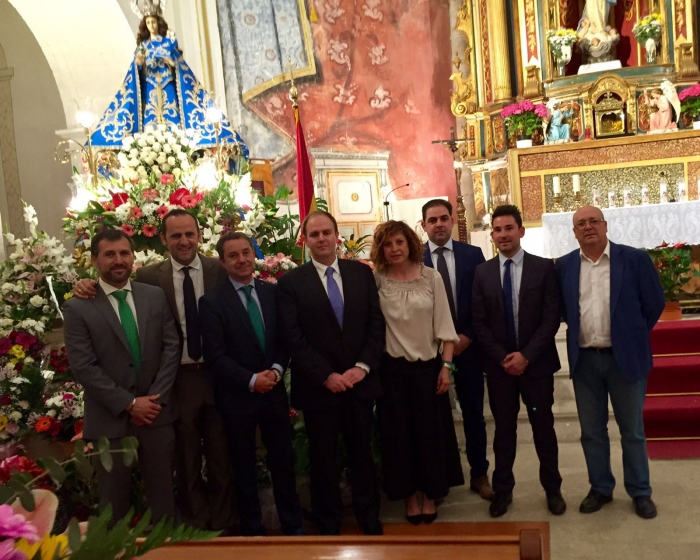 23-05-2016: Alcaldes y cargos públicos del PP en la Manchuela acompañaron al alcalde de Jorquera con motivo de las fiestas patronales.