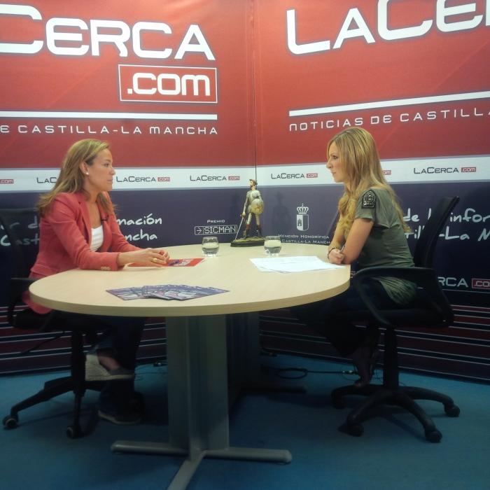 20-06-2016: Carmen Navarro, entrevistada por la Cerca TV, espera que pueda gobernar la lista más votada tras el 26 J.