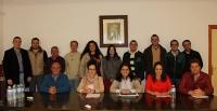 31-03-2014: La senadora Belén Torres ha participado en un coloquio de Nuevas Generaciones en la localidad de Lezuza.