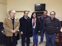 28-02-2014: La senadora Belén Torres y el diputado provincial Félix Diego Peñarrubia se han reunido con el PP de Abengibre de cara a las elecciones europeas del 25 de mayo.