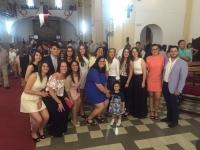 13-06-2016: Carmen Navarro estuvo en la misa de las Confirmaciones de Alpera, junto a la alcaldesa Cesárea Arnedo y el diputado provincial Oscar Tomás Martínez.