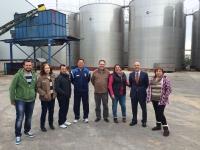 02-04-2014: La secretaria general del Partido Popular de Albacete y alcaldesa de Alpera, Cesárea Arnedo, y el portavoz del PP de Albacete, Juan Marcos Molina, visitaron las instalaciones de la cooperativa de Alpera esta semana.