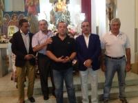 05-09-2013: Antonio Martínez y Manuel Mínguez en las Fiestas de Ayna.