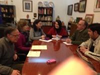 """15-03-2013: La senadora Belén Torres ha mantenido una reunión de trabajo en Alcaraz para abordar las reformas y medidas llevadas a cabo por el Ejecutivo nacional, con el fin de detallar las políticas que """"sacarán a España de la crisis""""."""