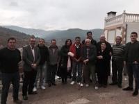 14-12-2015: El cabeza de lista del PP al Senado, Vicente Aroca, y Rosario Rodríguez, ofrecieron un mitin en Bogarra.