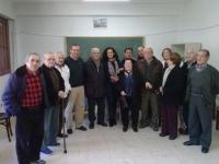 25-02-2014: El senador Vicente Aroca y la diputada provincial y concejala del Ayuntamiento de Albacete, Carlota Romero, han visitado Bogarra con el fin de animar a los militantes del PP a participar activamente en las elecciones del 25 de mayo.
