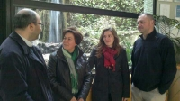 03-04-2014: La diputada provincial Carmen Álvarez ha visitado Yeste, en el marco de las reuniones que los cargos del PP de Albacete están realizando por toda la provincia.