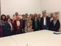 30-10-2015: Irene Moreno mantuvo una reunión con simpatizantes del PP de Casas Ibáñez para hacer balance de legislatura.