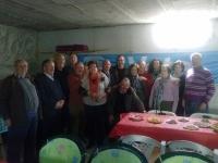13-03-2014: El senador Vicente Aroca y la diputada provincial Carlota Romero se han trasladado hasta el municipio de Casas de Lázaro para animar a los militantes del PP de la localidad de cara a las elecciones europeas del 25 de mayo.