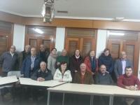 21-02-2014: El senador Dimas Cuevas y el diputado provincial Ángel Salmerón se han reunido con el PP de Casas de Ves para animar a sus miembros a participar activamente en los comicios europeos del próximo 25 de mayo.