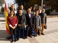 06-12-2015: Homenaje a la Constitución del PP en Caudete, con presencia de la candidata al Senado, Mar Requena.