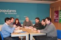 18-01-2013: En la imagen, la última reunión de la Comisión de Hacienda.