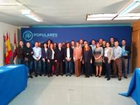 01-11-2015: Cospedal preside la comisión regional de Sanidad y Bienestar Social del Partido Popular en Albacte.