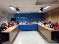 16-10-2015: Reunión del comité de campaña de las elecciones generales.
