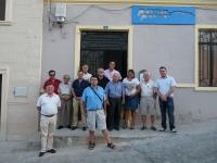 06-08-2014: Nueva junta local del PP en Tobarra, con Juan Ruiz al frente. En la reunión, estuvieron la secretaria provincial del PP, Cesárea Arnedo, y el coordinador de Organización, Antonio Martínez.