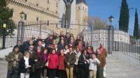 07-04-2014: El senador Dimas Cuevas y los diputados regionales Inmaculada López y Antonio Martínez acompañaron a varios simpatizantes del Partido Popular en una visitas que realizaron a las Cortes de Castilla-La Mancha y la ciudad de Toledo.