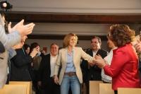 25-04-2015: Cospedal clausuró el acto de presentación de las candidaturas a las Cortes de Castilla-La Mancha.