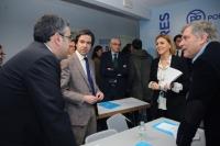 10-02-2016: Reunión de la Comisión Regional de Hacienda del PP en Guadalajara, presidida por Cospedal.
