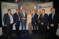 14-04-2016: Acto de Rajoy y Cospedal en Cuenca con presidentes y portavoces del PP en Diputaciones.