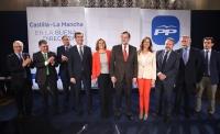 08-04-2015: Javier Cuenca, entre los alcaldes de capital de provincia de CLM presentados hoy.