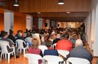 28-03-2015: Núñez hizo balance ante más de 300 personas en Almansa.