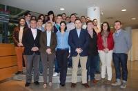 09-03-2013: Nuevas Generaciones con Francisco Núñez y Carmen Bayod en la Intermunicipal.