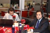 10-09-2012: Francisco Núñez, entrevistado por Nacho García, en el stand ferial de EsRadio.