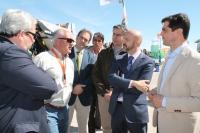 07-05-2015: Javier Cuenca visita Expovicaman.