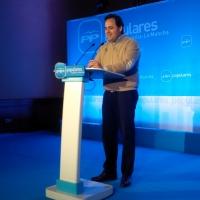 28-02-2015: Paco Núñez, durante su intervención en el Centro Cultural de La Asunción.