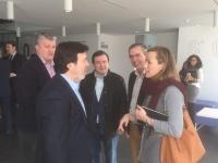 03-12-2015: Entrevista en FEDA con los empresarios y apoyo a las pymes desde el Partido Popular.