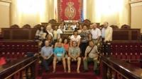 24-07-2015: El senador Dimas Cuevas ha acompañado a un grupo de vecinos de Férez que han visitado la Cámara Alta. Los fereños, junto a su alcalde Luis Pérez, se desplazaron a Madrid en un viaje organizado por el Ayuntamiento y visitaron al Congreso y Senado.
