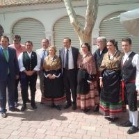 16-09-2015: Visita ferial del delegado del Gobierno, José Julián Gregorio.