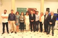 09-05-2015: Javier Cuenca participa en el acto de entrega de los Premios de Periodismo 2014 que concede la Asociación de la Prensa de Albacete, celebrado en el Centro Cultural de La Asunción.
