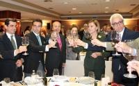 11-04-2015: El candidato del Partido Popular a la Alcaldía de Albacete, Javier Cuenca, en la gala de entrega de los IX Premios Taurinos 'Samueles' del Grupo Multimedia de Comunicación La Cerca.
