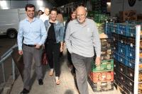 11-05-2015: Javier Cuenca visita la Lonja.
