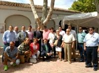 15-09-2015: Cargos públicos del PP junto al delegado del Gobierno en CLM, Julián Gregorio.