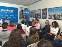 15-04-2016: Paco Núñez presidió el I Congreso de NNGG de La Roda.