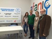 03-11-2015: Carmen Navarro y Rosa González visitaron la nueva sede de AFANION, dentro de la ronda de contactos de la Ruta Social del PP.