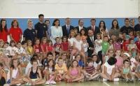 24-07-2013: La presidenta Cospedal en el campamento de verano de Villarrobledo.