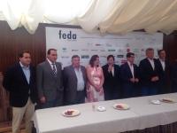 09-09-2015: El presidente del PP, Paco Núñez, asiste a los actos feriales organizados por FEDA.