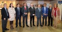 22-04-2015: El candidato del Partido Popular a la Alcaldía de Albacete, Javier Cuenca, ha asistido esta tarde a la gala de entrega de los XVIII premios de teatro 'Pepe Isbert' organizada por la asociación Amigos de los Teatros Históricos de España (Amithe).