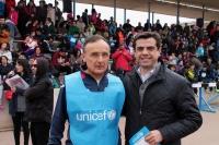 11-04-2015: Javier Cuenca participa en la Carrera del Agua, organizada por Unicef.