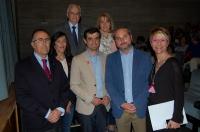 21-04-2015: El candidato del Partido Popular a la Alcaldía de Albacete, Javier Cuenca, ha asistido esta tarde a la gala benéfica organizada por la Asociación Costuras en la Piel en Apoyo a la Unidad de Investigación del Cáncer (Acepain).