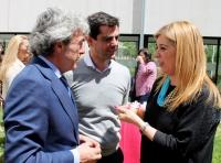 08-05-2015: El candidato del Partido Popular a la Alcaldía de Albacete, Javier Cuenca, ha reiterado su apoyo a las mujeres empresarias de la ciudad.