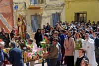 12-03-2016: Cospedal, en la procesión de Navas de Jorquera, en honor a San Gregorio.