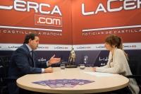 27-10-2015: El presidente del PP, Paco Núñez, destacó la gestión del Gobierno de España durante su entrevista en La Cerca Televisión.